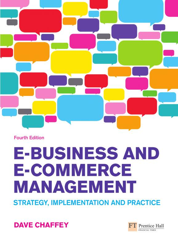 E-business and e-commerce management by Dave Chaffey