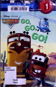 Cover of: Go, go, go!   Melissa Lagonegro