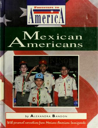 Cover of: Mexican Americans | Alexandra Bandon
