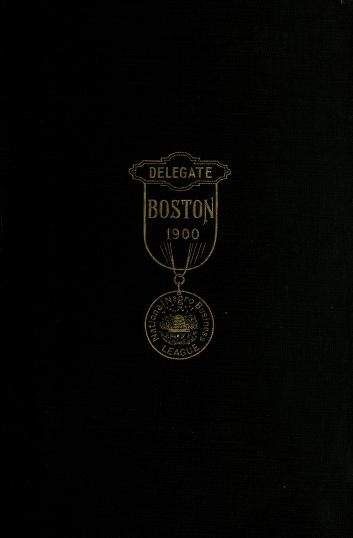 Cover of: Proceedings of the National Negro Business League | National Negro Business League (U.S.)